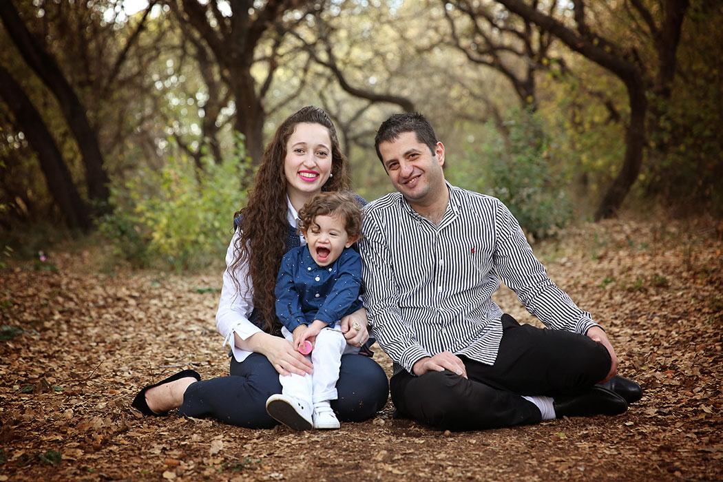 תמונות משפחה בטבע, אזור זכרון יעקב
